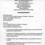 Együttműködési megállapodás - Jótékonysági koncert 2018.12.02