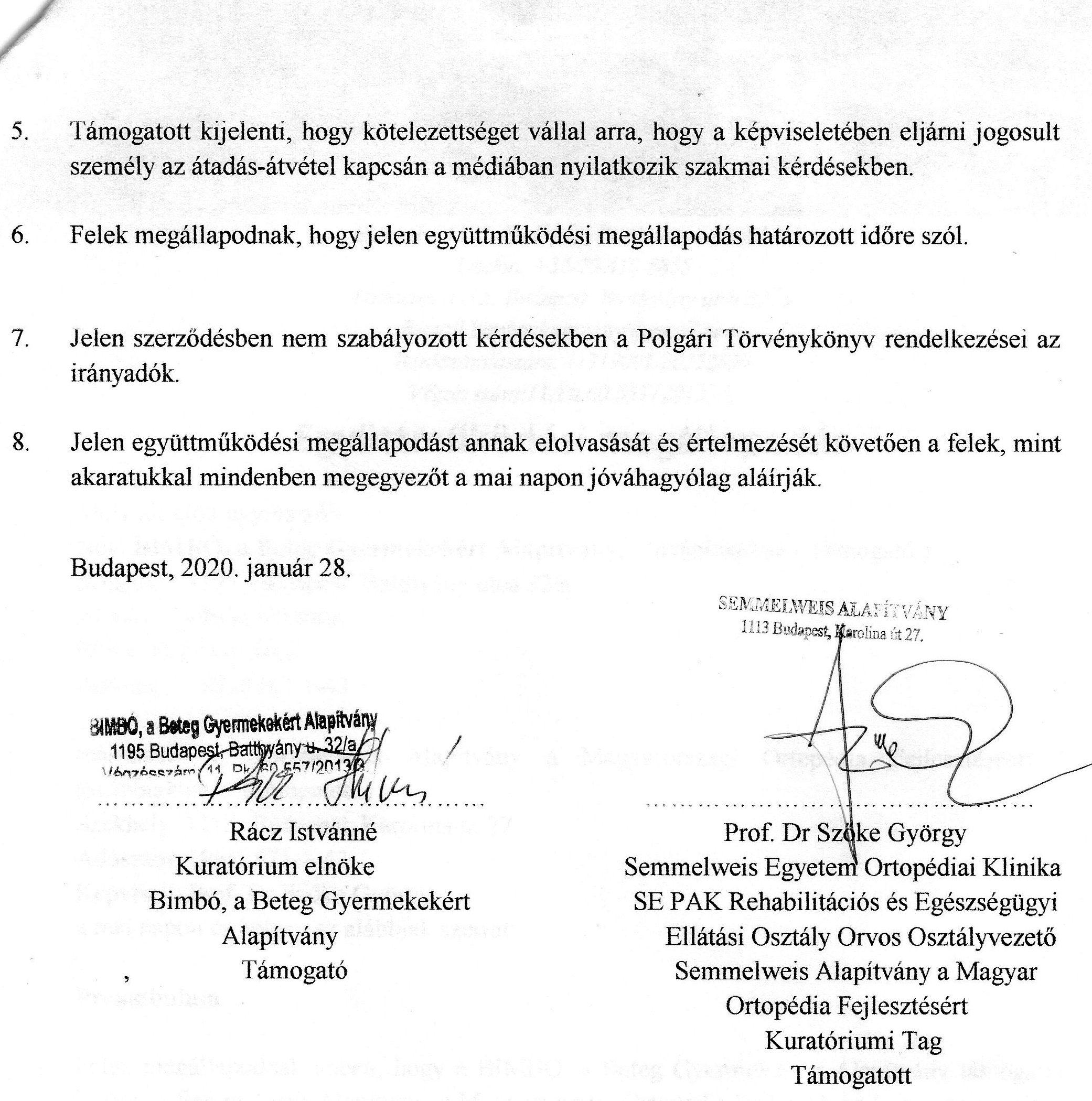 SOTE Gyermekortopédia együttműködés 2020 2.old