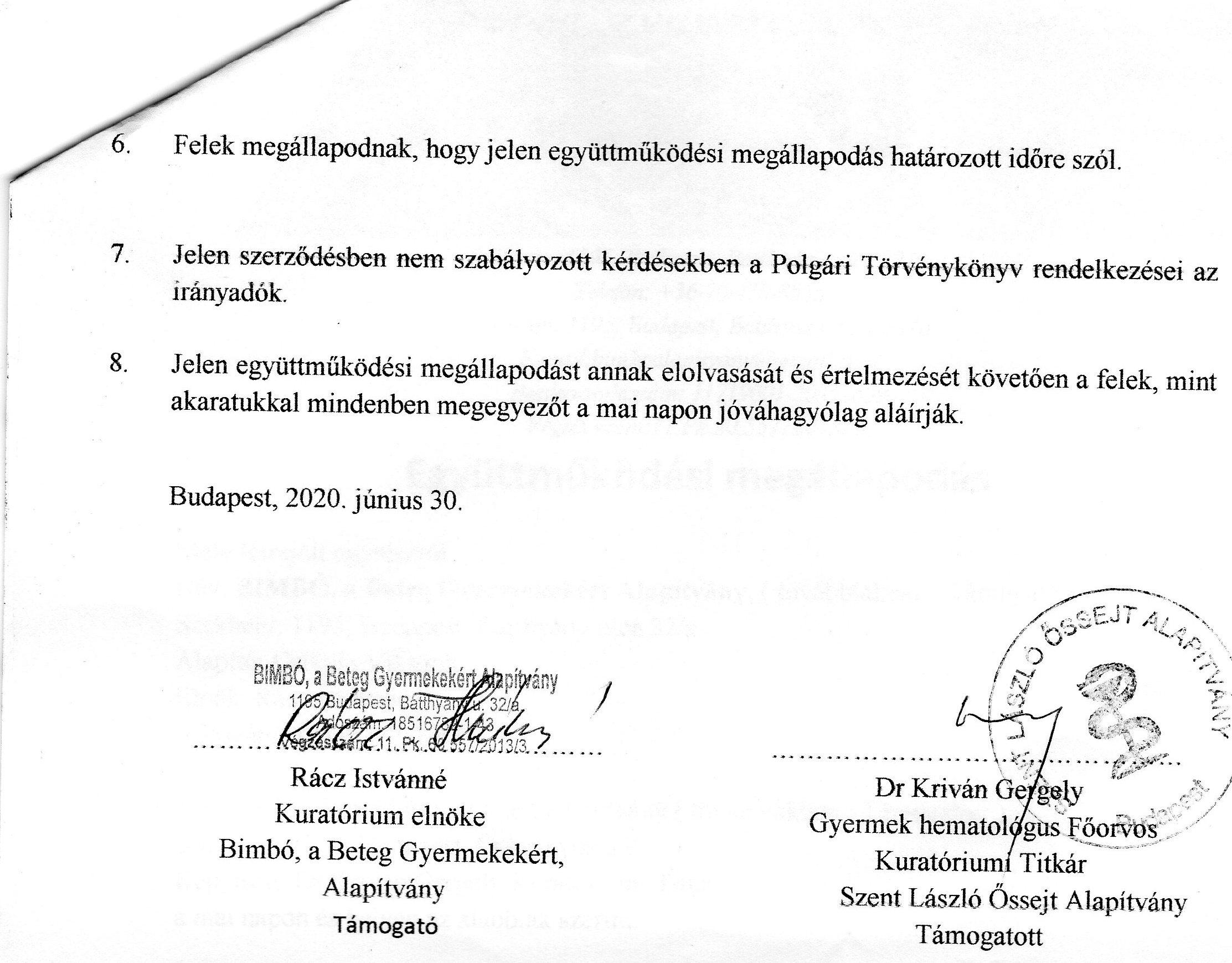 László Kórház Együttműködés 2020-2021 2.o.